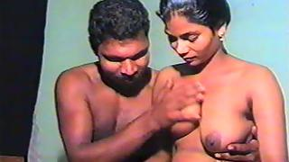 Desi couple having a sex in their room