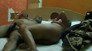 Mature Indian guy fucking his young office secretary in hotel