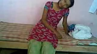Cute desi couple enjoying sex