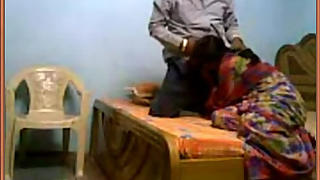 Mature housewife enjoying blowjob