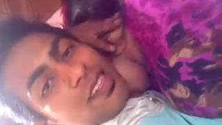 Juicy Indian GF Passionate Kissing With Boyfriend