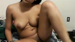 Indian exposing herself naked on a webcam