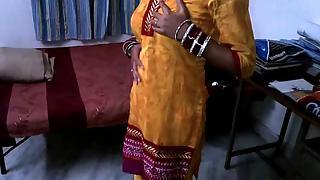 Shilpa bhabhi in traditional Indian yellow churidaar dress